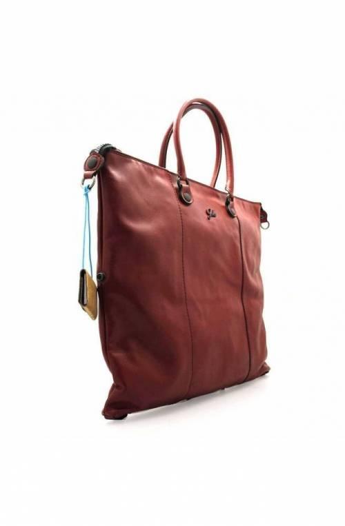 Borsa GABS G3 Donna Pelle L Nero Bordeaux - G000030T3X0203-C4005