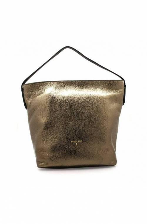 PATRIZIA PEPE Bag Female Shoulder bag Leather Black-silver - 2V8466-A3FH-I2YD