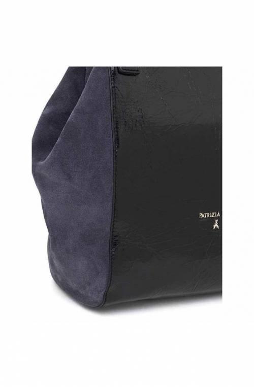 PATRIZIA PEPE Bag Female Leather Blue black - 2V8162-A4M5-K103