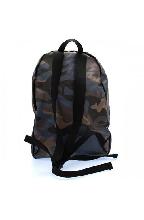 Zaino K-WAY Uomo Camouflage Blu - 5DKK1A04N3