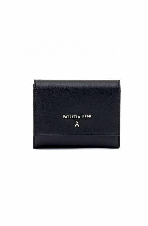Portafoglio PATRIZIA PEPE Donna Pelle Nero - 2V7081-AQ41-K103