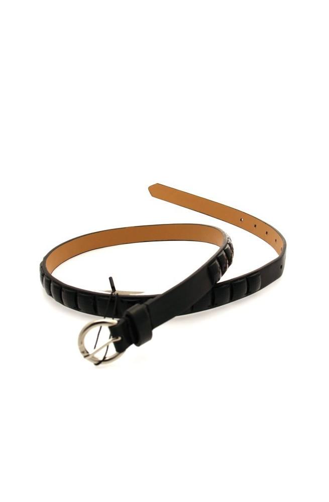 ANTONELLO SERIO Cinturón A.S. Mujer Negro - 21n56309030000a