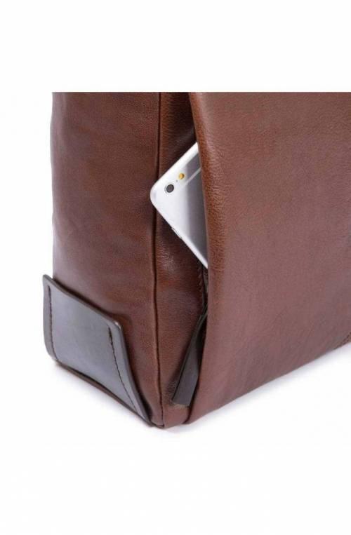 PIQUADRO Bag Pyramid Unisex Leather Black - CA4584W93-N