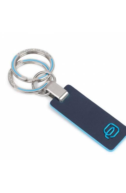Portachiavi PIQUADRO Blue Square Blu Unisex - PC3755B2-BLU2