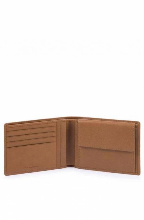 Portafoglio PIQUADRO Cube Pelle Cuoio - PU257W88R-CU