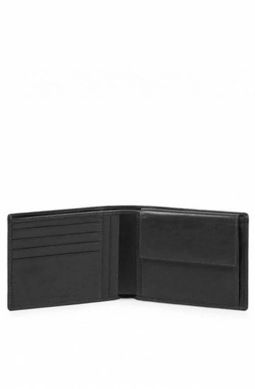 Portafoglio PIQUADRO Cube Pelle Nero - PU257W88R-N