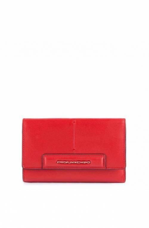 Portafoglio PIQUADRO Splash Donna Pelle rosso - PD4152SPLR-RSA