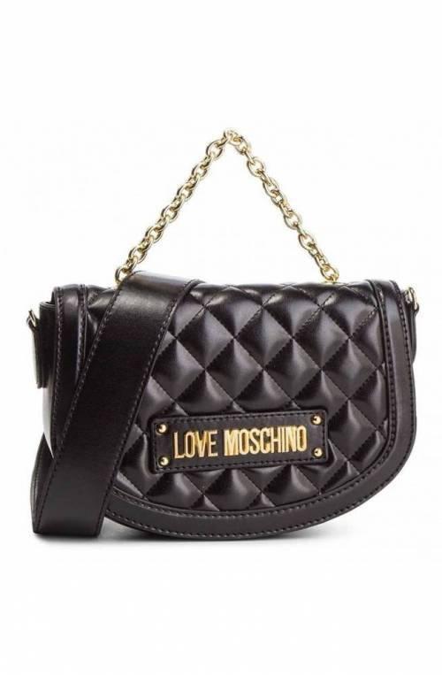Borsa LOVE MOSCHINO QUILTED Donna Nero - JC4002PP17LA0000