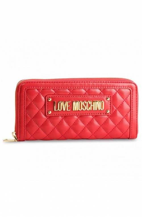 Portafoglio LOVE MOSCHINO QUILTED Donna Rosso - JC5612PP17LA0500