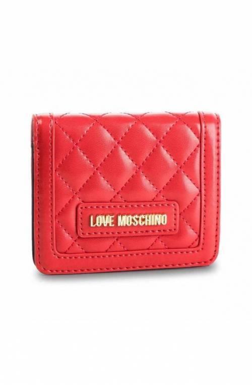 Portafoglio LOVE MOSCHINO QUILTED Donna Rosso - JC5614PP17LA0500
