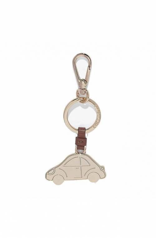 Portachiavi COCCINELLE Pivoine oro Donna - E2CZ441R804P03