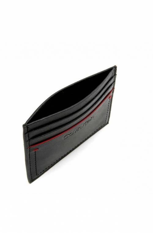 Portacarte CALVIN KLEIN Uomo Nero Pelle - K50K504265001