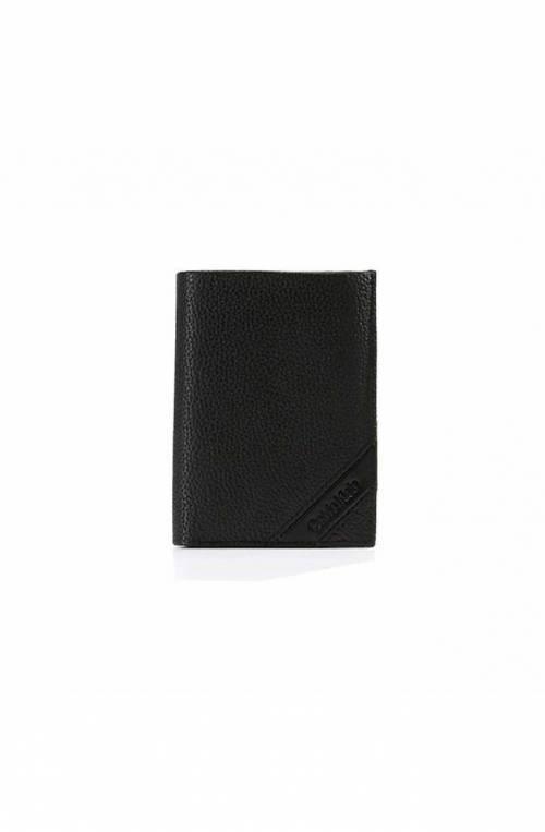 Portafoglio CALVIN KLEIN PEBBLE Uomo Pelle Nero - K50K504256001
