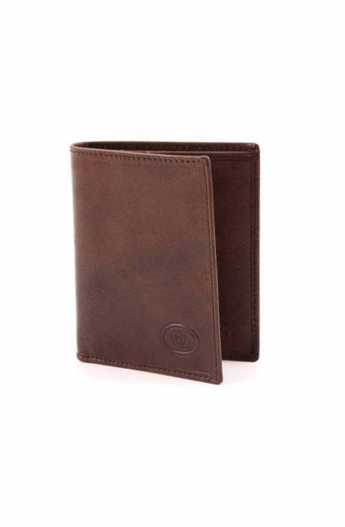 Porta carte di credito The Bridge Uomo Pelle Marrone - 012084-01
