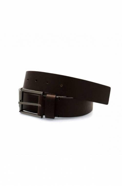 CALVIN KLEIN Belt ESSENTIAL Male Leather 100 Dark brown - K50K504479066-100