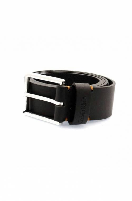 CALVIN KLEIN Belt ESSENTIAL Male Leather 100 Black - K50K504479001-100