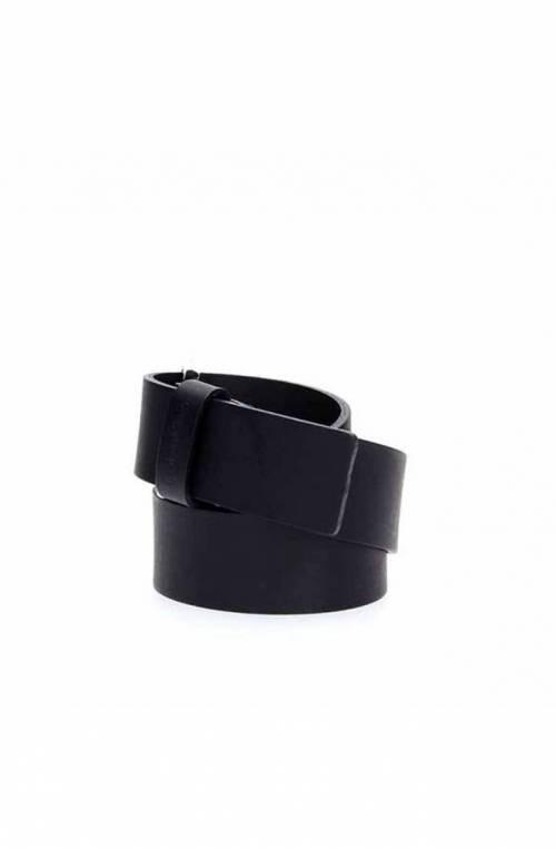 Cintura CALVIN KLEIN ESSENTIAL Uomo Pelle 110 Blu navy - K50K504479067-110