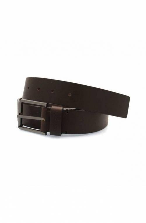 CALVIN KLEIN Belt ESSENTIAL Male Leather 90 Dark brown - K50K504479066-90