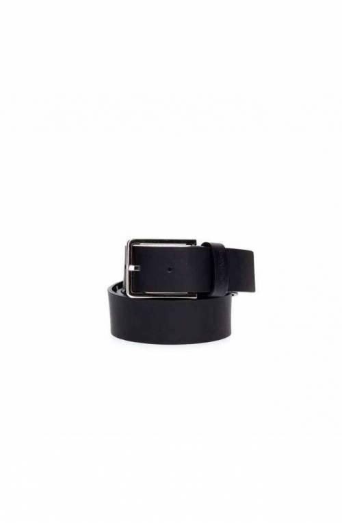 CALVIN KLEIN Belt ESSENTIAL Male Leather 95 Navy blue - K50K504479067-95