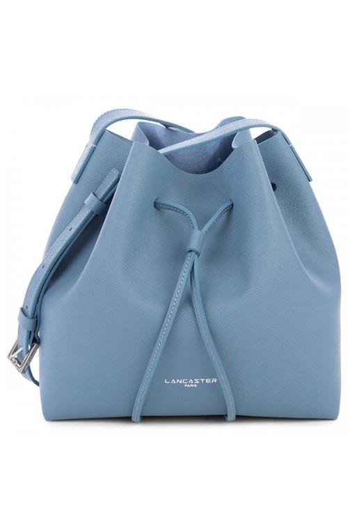 LANCASTER PARIS Bag Female bucket shape Slate blue - 422-18-BLEU-ARDOIS