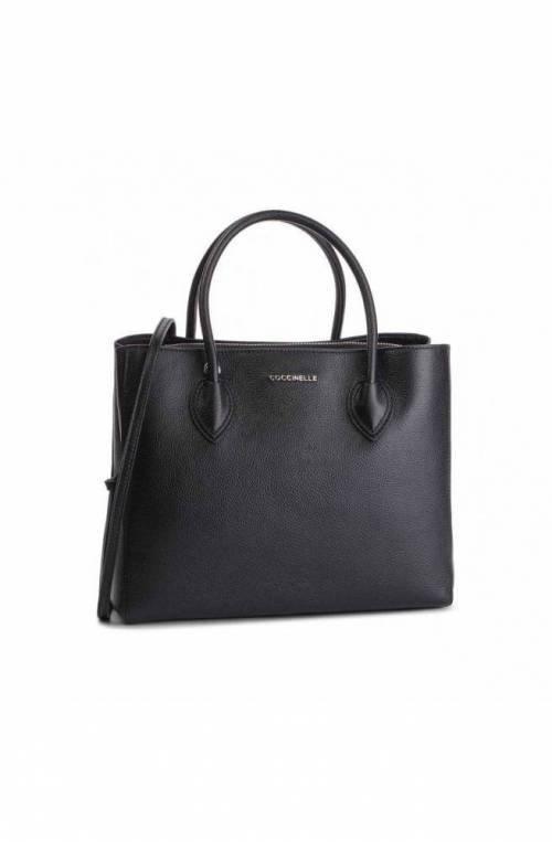 COCCINELLE Bolsa FARISA Mujer Cuero Negro - E1DG5180101001