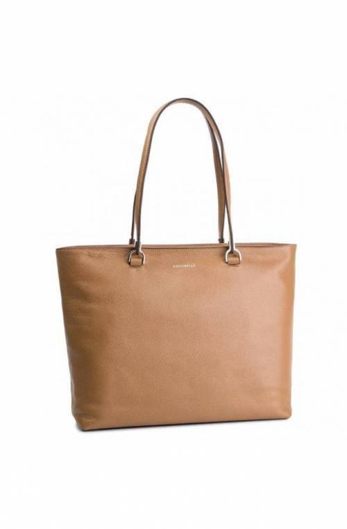 COCCINELLE Bolsa KEYLA Mujer Cuero Camello - E1DI0110201N02
