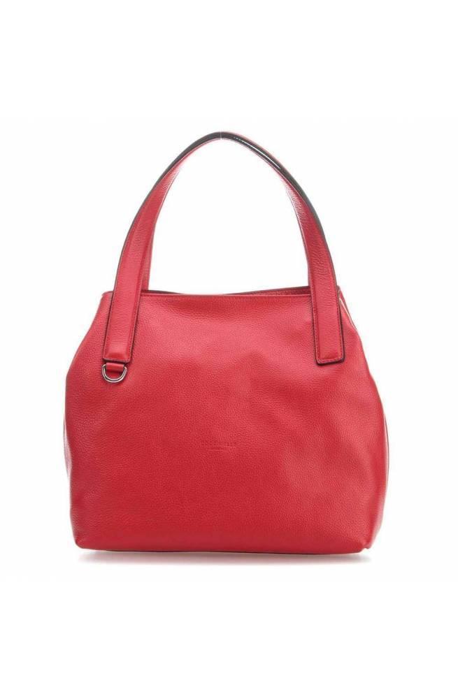 8247959905b0d COCCINELLE Tasche MILA Damen Leder Rot - E1DE5110201R09 - PoppinsBags