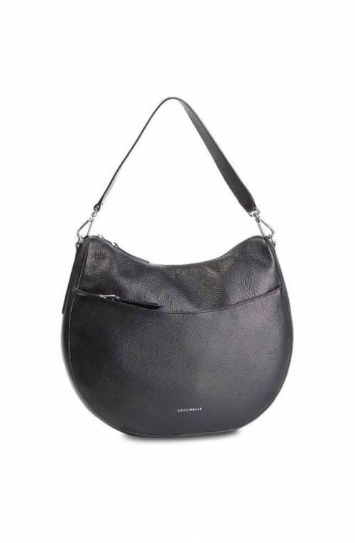 COCCINELLE Bolsa PERSEFONE SOFT Mujeres Cuero Negro - E1DK6130201001
