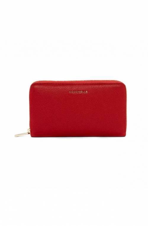 COCCINELLE Cartera Mujer Cuero Rojo - E2DW5113201R09