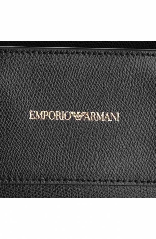 Borsa Emporio Armani BMINERAL Donna Pelle Nero - Y3A115-YSE2B-80001