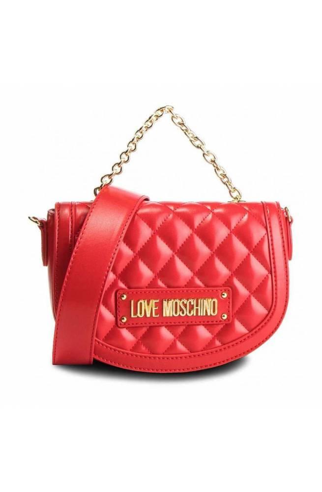 LOVE MOSCHINO Bolsa QUILTED Mujer Rojo - JC4002PP17LA0500