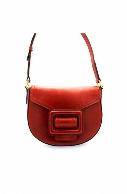 The Bridge Wayfarer Bag GORGONA Female Leather Red - 0437294N-91