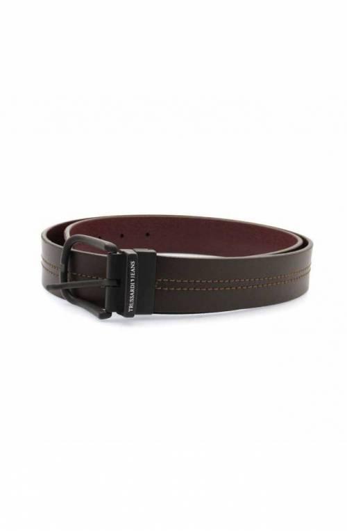 Cintura TRUSSARDI JEANS BUSINESS AFFAIR Uomo Pelle Marrone - 71L000809Y0-B687-110