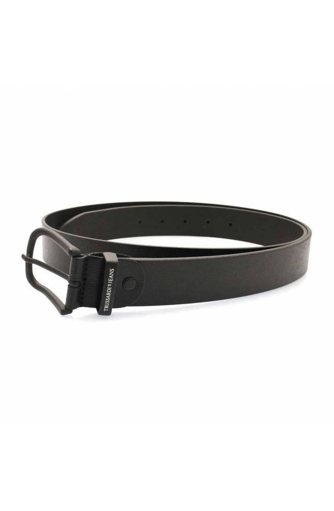 Cintura TRUSSARDI JEANS BUSINESS AFFAIR Uomo Pelle Nero - 71L000819Y0-K299-120