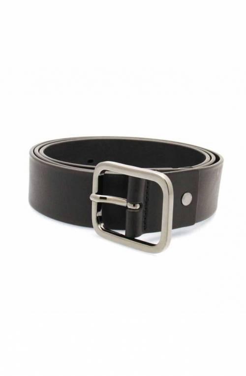 Cintura TRUSSARDI JEANS TURATI Uomo Pelle Nero - 71L000979Y0-K299-120