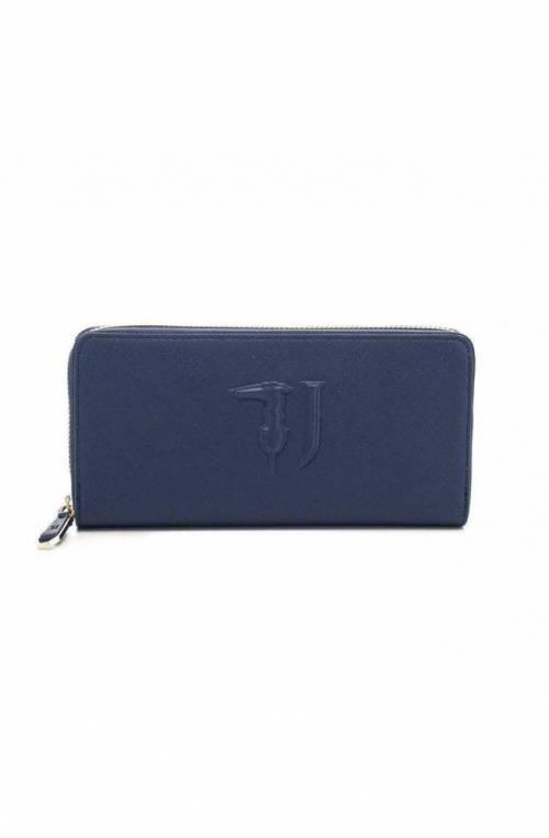 TRUSSARDI JEANS Wallet ISCHIA Female Navy blue - 75W000011Y090125U290
