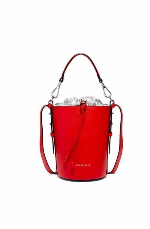 COCCINELLE Bolsa BETA Mujer Cuero Rojo/plata - E1DH0230201961