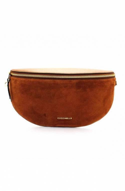 COCCINELLE Bolsa PERSEFONE Mujer Cuero+gamuza Brule/brule - E1DK5170101W74