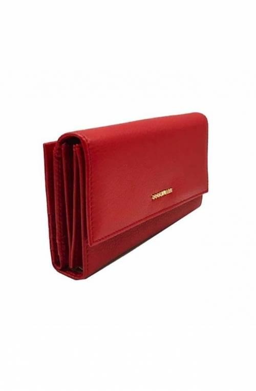 Portafoglio COCCINELLE METALLIC SOFT Donna Pelle Rosso - E2DW5118501R09