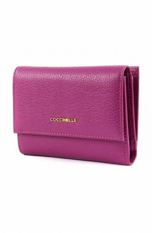 Portafoglio COCCINELLE METALLIC SOFT Donna Pelle Viola - E2DW5116601V02