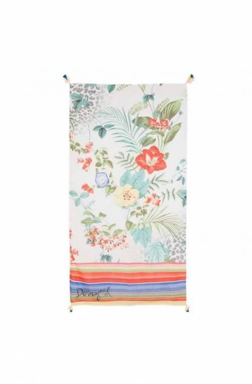 Foulard DESIGUAL Donna 120 X 120 Multicolore - 19SAWF88-1002-U