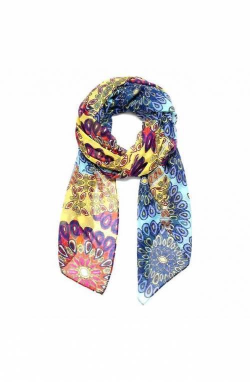 Foulard DESIGUAL Donna 120 X 120 Multicolore - 19SAWF92-8022-U