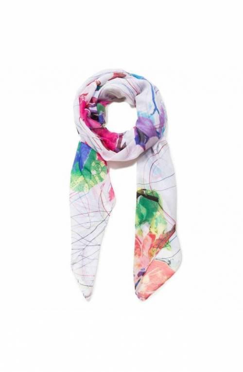 Foulard DESIGUAL Donna 120 X 120 Multicolore - 19SAWF96-1001-U