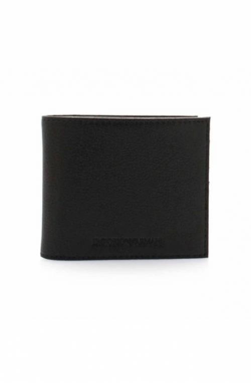 Emporio Armani Wallet BI-FOLD Male Leather Black - Y4R168-YEW1E-81072