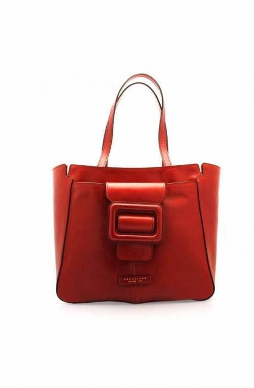 The Bridge Bag Female Leather red - 0437894N-91