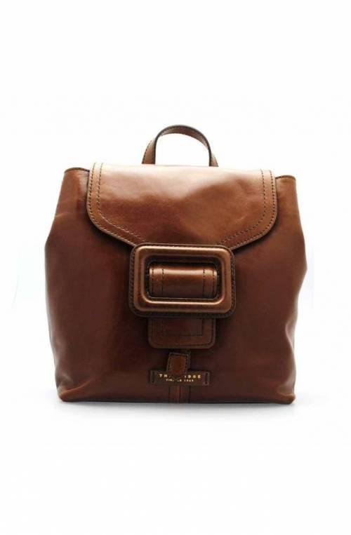 The Bridge Wayfarer Backpack GORGONA Female Leather Brown - 0437794N-14