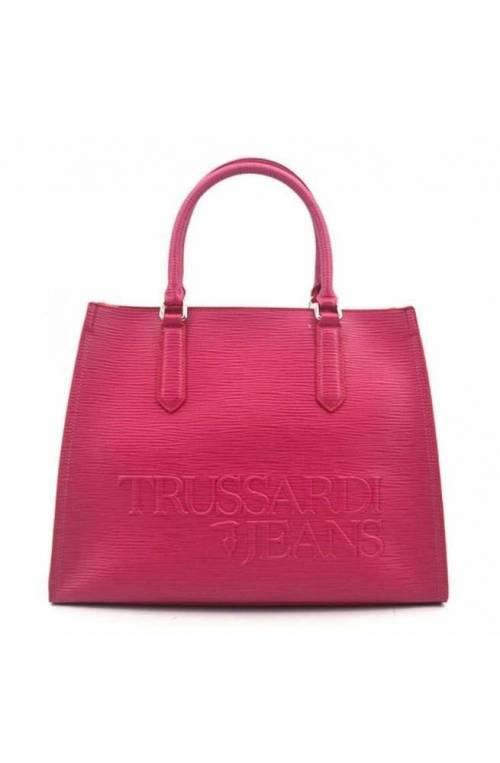 TRUSSARDI JEANS Bag LG SAFFIANO Female Fuchsia - 75B006839Y099999P200