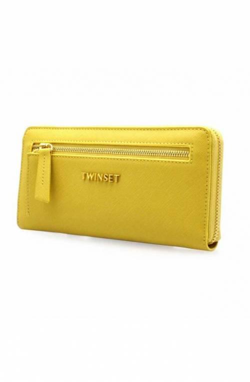 TWIN-SET Wallet Female Yellow - 191TA7164-03394