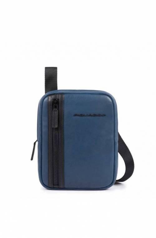 PIQUADRO Bolsa Usie Hombre Cuero Azul - CA4290S99-BLU