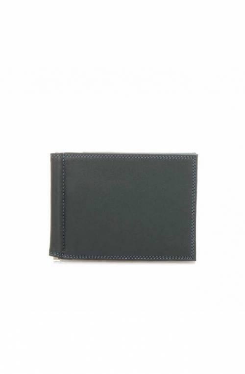 MYWALIT porta tarjetas de crédito Hombre Cuero Gris - 137-82